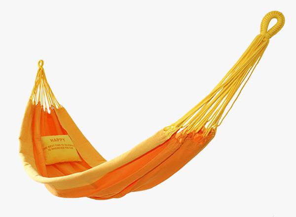 hangmat geel-oranje