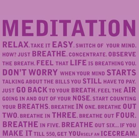 meditatie kussentje